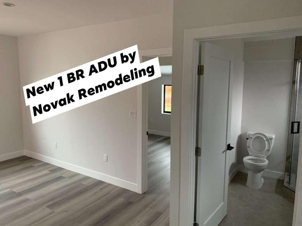 Novak Remodeling 1BR Garage Conversion 1024x767